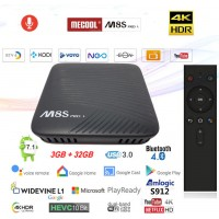 Mini PC Android 7.1 kodi 18.4 predvajalnik 4K UHD M8S PRO L S912 8 jedrni 3GB/32GB Android TV BOX