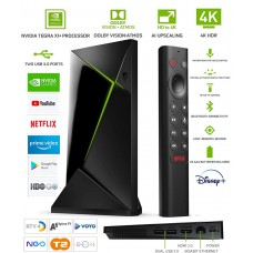 Android TV Nvidia Shield TV Pro Android Box multimedijski predvajalnik UHD 4K, 3/16GB glasovno upravljanje