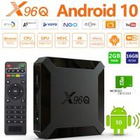 Android box z Androidom 10, Kodijem 18 predvajalnik 4K UHD X96Q Allwinner H313 4 jedrni, RAM 2GB Pomnilnik 16GB