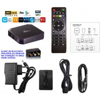 Mini PC z Android 7 Kodi 18 X96 mini  za starejše analogne TV katodna cev z SCART , CINCH oz. RCA