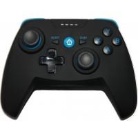 CX-X1 brezžični igralni plošček žametni otip z vibracijami, Bluetooth in USB za Android TV, PC, PS3, Android telefoni