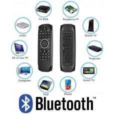 Daljinec Bluetooth 5.0 G7BTS prostorska miška, tipkovnica, IR učenje za Android boxe, pametne telefone, tablice,  PC ali pametne televizorje
