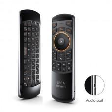 Riitek Rii mini i25A brezžični daljinec USB z funkcijo prostorske miške, tipkovnice, vgrajen mikrofon