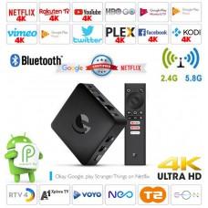 Android Box EN1015K Android 9 multimedijski predvajalnik UHD 4K, 4 jedrni, 2/8GB glasovno upravljanje