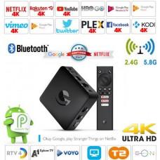 Android Box EN1015K/SRT202EMATIC Android 9 multimedijski predvajalnik UHD 4K, 4 jedrni, 2/8GB glasovno upravljanje