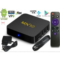 Mini PC Android 8 kodi 18b3 predvajalnik 4K UHD MX10 4Core 4GB/32GB Android TV BOX