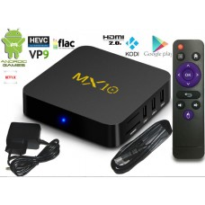 Mini PC Android 8 kodi 18 predvajalnik 4K UHD MX10 4Core 4GB/32GB Android TV BOX
