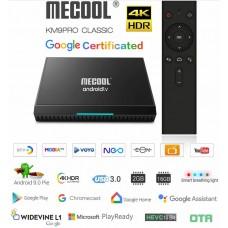 Mini PC Android 9 kodi 18 predvajalnik 4K UHD Mecool KM9 PRO Amlogic S905X2 4 jedrni 2/16GB Android TV BOX