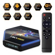 Android TV Box Rbox R2 HK1 8GB + 64GB RK3566 Android 11 multimedijski predvajalnik UHD 4K, 4 jedrni