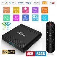 Android TV box Android 9 Kodi 18+ predvajalnik 8K 4K UHD X96 Air S905X3 4 jedrni, RAM 4GB Pomnilnik 64GB, mini računalnik