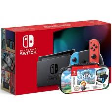 Nintendo Switch Neonsko V2 Rdeč/moder J-C kontroler +  torbica (na izbiro 2 teme)