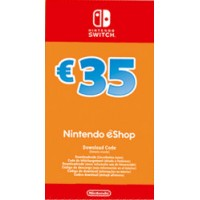NS Nintendo eShop dobroimetje 35 EUR Switch
