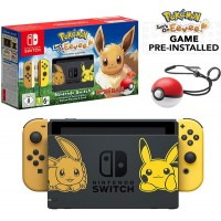 Nintendo Switch Let's Go Eevee Limited Edition konzola