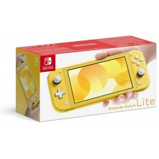 Nintendo Switch Lite Rumena