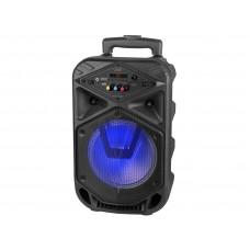XFest Ojačan akumulatorsko napajan prenosni zvočnik Trolley Trevi XF 350 z Mp3 predvajanjem USB, micro SD, Bluetooth, AUX in mikrofonski vhoda
