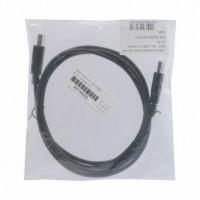 Kabel USB A-B 1,8m Digitus dvojno oklopljen črn