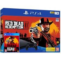 SONY igralna konzola Playstation 4 Slim 1TB in Red Dead Redemption 2