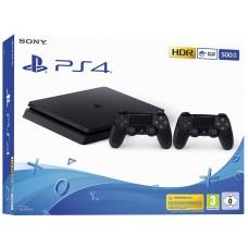 SONY igralna konzola Playstation 4 Slim 2X Dualshock 4 plošček