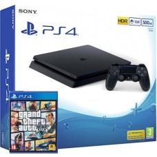 SONY igralna konzola Playstation 4 Slim in GTA 5 Grand Theft Auto 5 (V)
