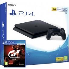 SONY igralna konzola Playstation 4 Slim 500GB in Gran Turismo Sport