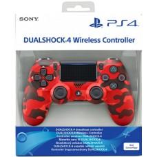 DualShock 4 V2 PS4 SONY Red Camo