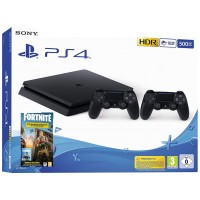 SONY Playstation 4 Slim Fortnite Royal Bomber Pack in dva Dualshock 4 kontrolerja