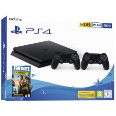 SONY Playstation 4 Slim Fortnite Royal Bomber Pack in dva Dualshock 4 kontrolerja
