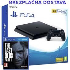 Playstation 4 Slim 500GB in The Last of Us II