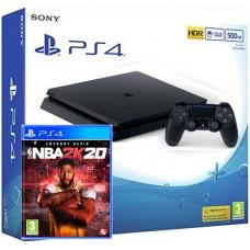 SONY igralna konzola Playstation 4 Slim 500GB in NBA 2K20