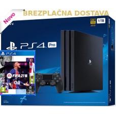 SONY igralna konzola Playstation 4 PRO 1TB in FIFA 21