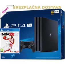 SONY igralna konzola Playstation 4 PRO 1TB in NBA 2K21