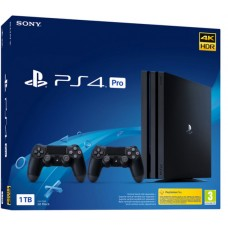Playstation 4 PRO 1TB in 2 kontrolerja Dualshock 4