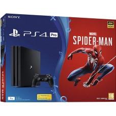 SONY igralna konzola Playstation 4 PRO 1TB in Marvel's Spider-man
