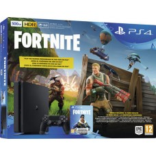 SONY igralna konzola Playstation 4 Slim 500GB in Fortnite Royal Bomber Pack VCH 500 V-Bucks