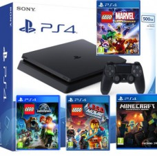 SONY igralna konzola Playstation 4 Slim 500GB otroški komplet 4 igre Minecraft in Lego