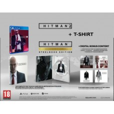 PS4 HITMAN 2 Special Edition z majico HITMAN 2 in Hitman STEELBOOK EDITION