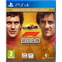 PS4 F1 2019 Legend Edition Senna Prost