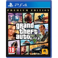 PS4 GTA 5 Grand Theft Auto 5 (V) Premium Edition