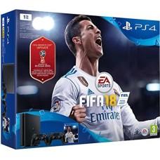 SONY igralna konzola Playstation 4 Slim 1TB FIFA 18 in dodatni plošček DS4