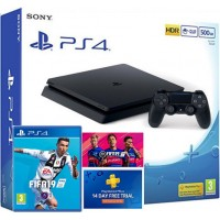 SONY igralna konzola Playstation 4 Slim 500GB in FIFA 19