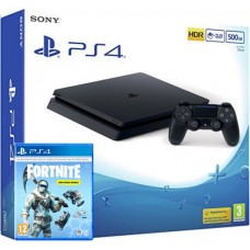 SONY igralna konzola Playstation 4 Slim 500GB in Fortnite Royal Deep Freeze Pack 1000 V-BUCK