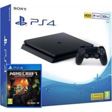 SONY igralna konzola Playstation 4 Slim 500GB in Minecraft