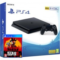 SONY igralna konzola Playstation 4 Slim 500GB in Red Dead Redemption 2