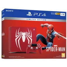 SONY igralna konzola Playstation 4 Slim 1TB Limited Edition Spider-man