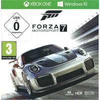 XBOX ONE DLG Forza Motorsport 7  (Windows 10) HDR 4K