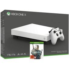 Microsoft igralna konzola XBOX ONE X 1TB z igro The Witcher 3: Wild Hunt 4K UHD