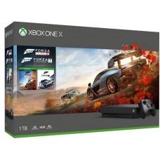 Microsoft igralna konzola XBOX ONE X 1TB FORZA HORIZON 4 in FORZA MOTORSPORT 7