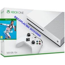 Microsoft igralna konzola XBOX ONE S 500GB in FIFA 19