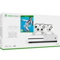 Microsoft igralna konzola XBOX ONE S 1TB 2 kontrolerja in FIFA 19