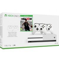 Microsoft igralna konzola XBOX ONE S 1TB 2 kontrolerja in NBA 2K19